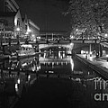 Birmingham Old Canal Bw by John Chatterley