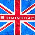 Birmingham Vintage Union Jack Flag by Mark Tisdale