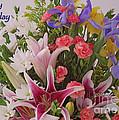 Birthday Bouquet Card by Ann Horn