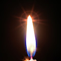 Birthday Candle by Wladimir Bulgar