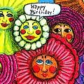 Birthday Flowers by Genevieve Esson