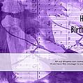 Birthday Quote 1 by Helene U Taylor