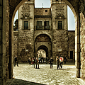 Bisagra Gate And Courtyard by Joan Carroll