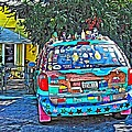 Bisbee Arizona Art Car by Rebecca Korpita