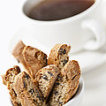 Biscotti And Coffee by Elena Elisseeva