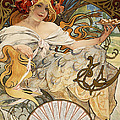 Biscuits Lefevre-utile by Alphonse Marie Mucha