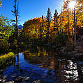 Bishop Creek Fall Color Sunset by Scott McGuire