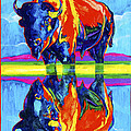 Bison Reflections by Derrick Higgins