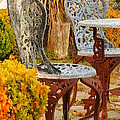 Bistro Table-color by Loni Collins