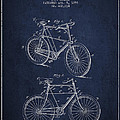 Bisycle Patent Drawing From 1898 by Aged Pixel