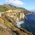 Bixby Bridge Over The Creek by Christiane Schulze Art And Photography
