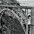 Bixby Creek Bridge Black And White by Benjamin Yeager