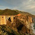 Bixby Creek Bridge In Big Sur by Christian Heeb