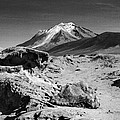 Bizarre Landscape Bolivia Black And White by For Ninety One Days