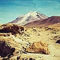 Bizarre Landscape Bolivia Old Postcard by For Ninety One Days