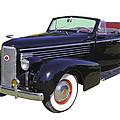 Black 1938 Cadillac Lasalle by Keith Webber Jr