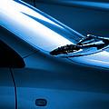 Black And Blue Cars by Carlos Caetano