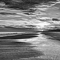 Black And White Beach by Phill Doherty