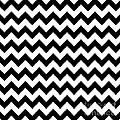 Black And White Chevron by Jackie Farnsworth