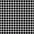 Black And White Dots by Daniel Hagerman
