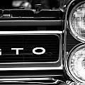 Black And White Gto by Dan Sproul