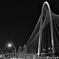 Black And White Hunt-bridge-dallas by Tod and Cynthia Grubbs