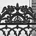 Black And White Ironwork by Alys Caviness-Gober