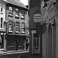 Black And White Kinsale Street by Jeremy Hayden