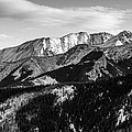 Black And White Mountains by Pati Photography