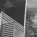 Black And White Skyscrapers by Bob Phillips