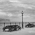 Black And White Swanage Pier by Linsey Williams
