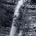 Black And White Waterfall by Melany Sarafis