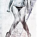 Black Bikini by David Ridley