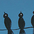 Black Birds On The Line by Ken  Blacktop Gentle