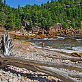 Black Brook In Cape Breton Highlands Np-ns by Ruth Hager