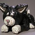 Black Cat by Jeanette K