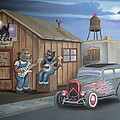 Black Cat Juke Joint by Stuart Swartz