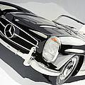 Mercedes 300 Sl by Marek Ptak