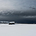 Black Clouds - White Snow by Frank Olsen