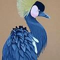 Black-crowned Crane by Anita Putman
