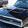 Black Dodge Charger by Mark Spearman