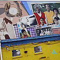 Black Family Reunion Mural by Cora Wandel