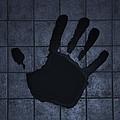 Black Hand Cyan by Rob Hans