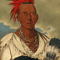 Black Hawk. Prominent Sauk Chief. Sauk And Fox by George Catlin