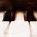 Black Keys D Flat And E Flat  by Scott Norris