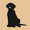 Black Labrador by Elizabeth Harshman