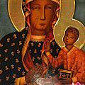 Black Madonna Of Czestochowa by Philip Ralley