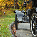 Black Model A On Blue Ridge Parkway by Bruce Gourley