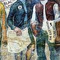 Black Panther Mural Berkeley Ca1977 by Ed Weidman