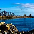 Black Rock Harbor Light by Dave Hahn